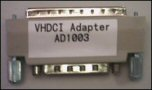AD1003, 68-Pin High Density male connector to 68-Pin VHDCI female connector