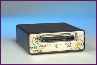 Narrow Single-ended SCSI Bus Expander MS8A